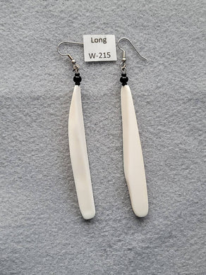 Earrings 3-3/8 Inches Long