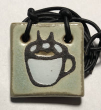 Load image into Gallery viewer, Coffee Cup Pendant