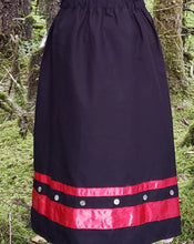 Load image into Gallery viewer, Black Traditional Dance Skirt