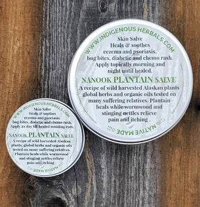 Nanook Plantain Salve four ounce
