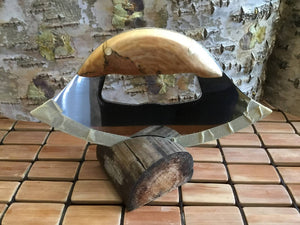Authentic Spalted Birch Wood Ulu