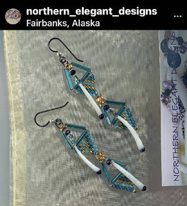 "3"" light weight earrings"
