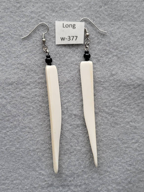 Earrings 3-7/8 Inches Long