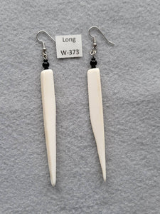 Earrings 3-1/4 Inches Long
