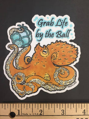 Octoball Sticker