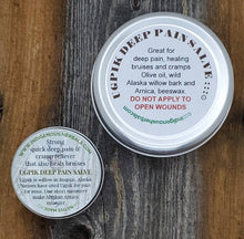 Load image into Gallery viewer, Ugpik Deep Pain Salve Arnia Willow Bark four ounce