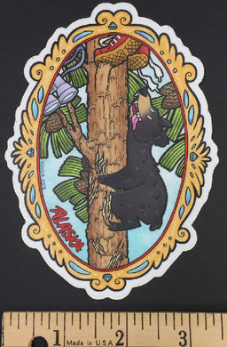 Nature Friends Black Bear Sticker