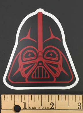 The Dark Chief Black and Red sticker