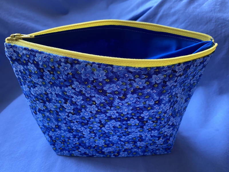 Forget Me Not Cosmetic Bag
