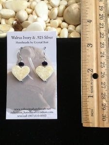 Walrus Ivory Earrings