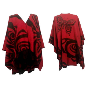 Butterfly Fashion Wrap/Poncho