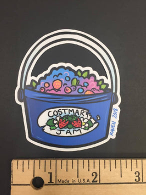 Berry Bucket Sticker