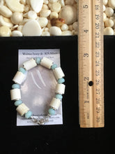 Load image into Gallery viewer, Walrus Ivory & Amazonite Bracelet
