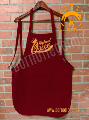 apron: frybread queen