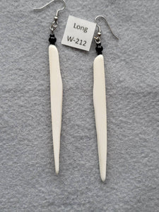 Earrings 3-1/2 Inches Long