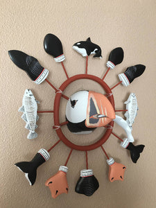 Alaskan Puffin Head Mask