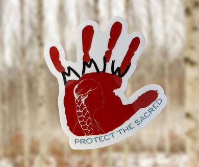 MMIW Protect the Sacred Sticker