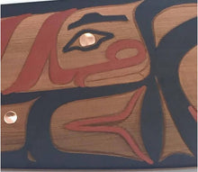 Load image into Gallery viewer, Salmon Paddle w/ Copper Accents