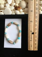 Load image into Gallery viewer, Mammoth Ivory & Turquoise Bracelet