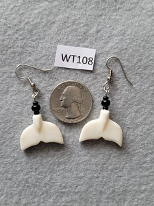 Walrus Whale Tail Earrings