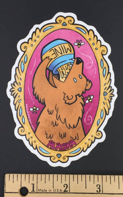 Mine - Honey Bear Brown Bear Sticker