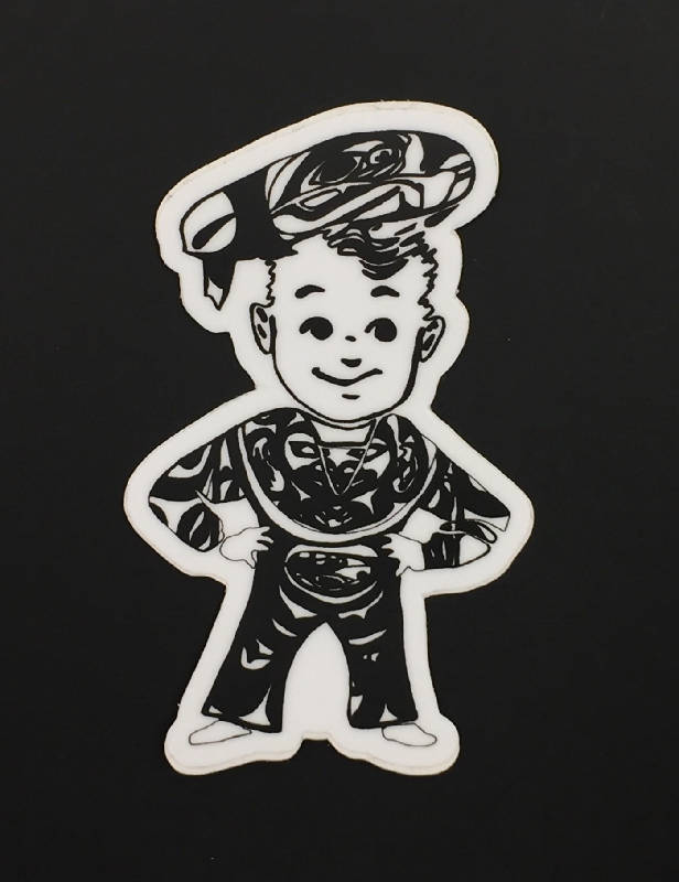 Sailor Boy Pilot Bread Sticker