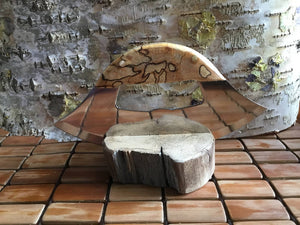 Authentic Spalted Birch Ulu