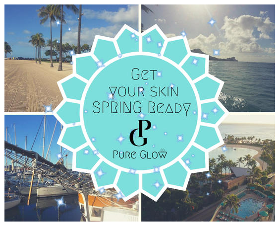 Get your skin SPRING Ready