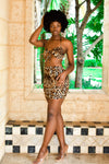 """Jungle In Me"" Skirt Set"