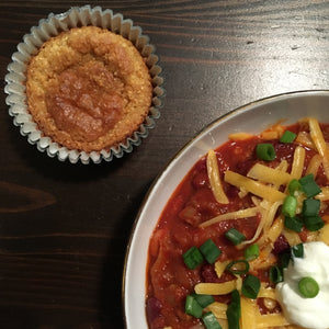 Gin Roasted Pepper Beef & Bean Chili