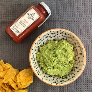 Red Chili Lime Guacamole