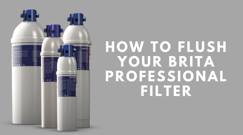 Brita Professional - How To Flush Your Filter