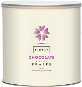 Simply Chocolate Frappe Mix (1.75KG Tin)