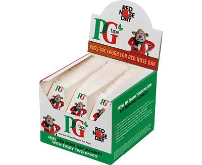 PG Tips Envelope Tea Bags (Box of 200)