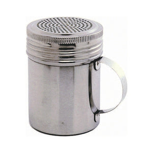 Stainless Steel Handled Shaker with Screw Top Shaker