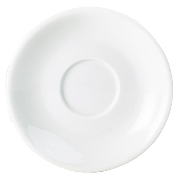 Royal Genware Saucers for 25cl Cups (Pack of 6)