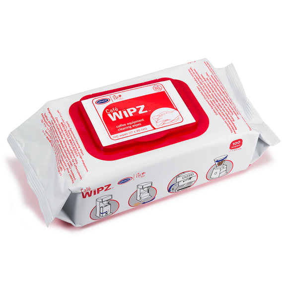 Urnex Café Wipz Coffee Equipment Cleaning Wipes (100 Wipes)