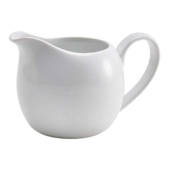 Genware Porcelain Milk Jugs 14cl/5oz (Pack of 6)