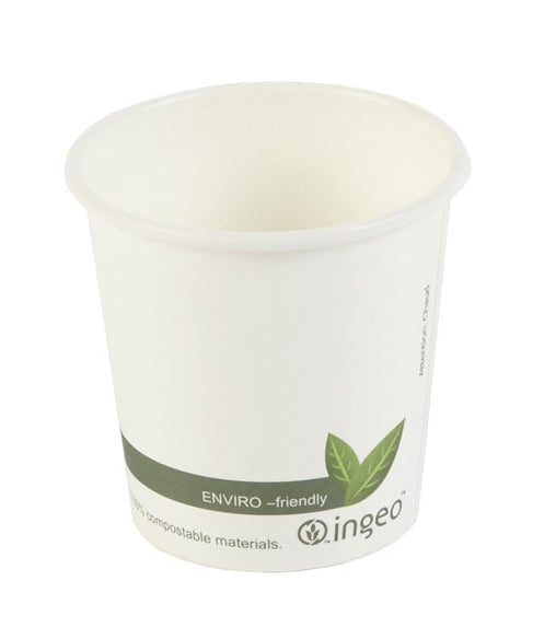 4oz Biodegradable & Compostable Single Wall Paper Cups