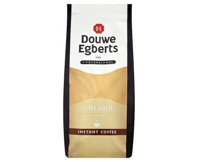 Douwe Egberts Pure Gold Soluble Coffee (300G Bag)