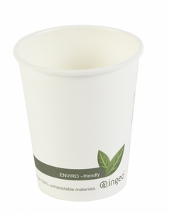 8oz Biodegradable & Compostable Single Wall Paper Cups