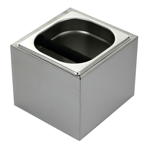 Knock Box in Stainless Steel Surround