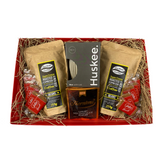 Christmas Coffee Beans & Huskee Cup Gift Box