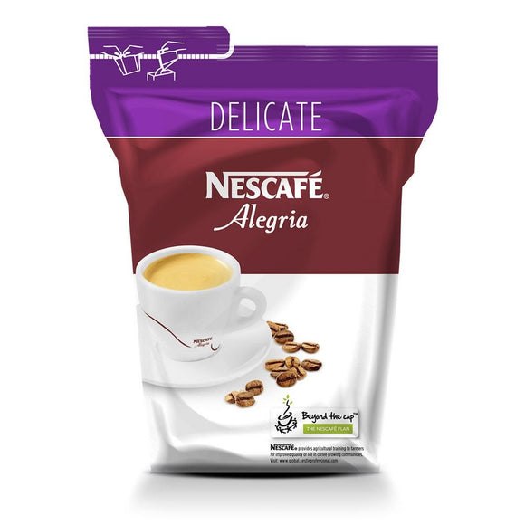 Nescafé Alegria Delicate Soluble Vending Coffee (500G Bag)