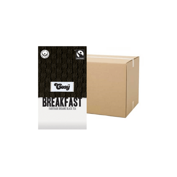 Cosy Breakfast Tagged Tea Bags (Case)