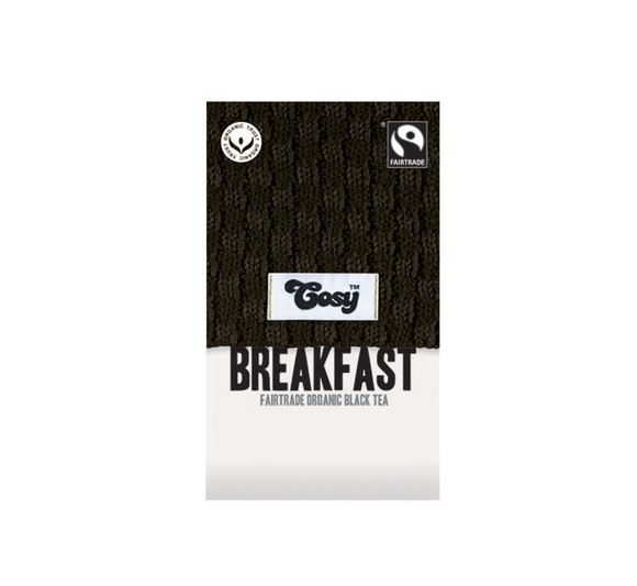 Cosy Breakfast Tagged Tea Bags