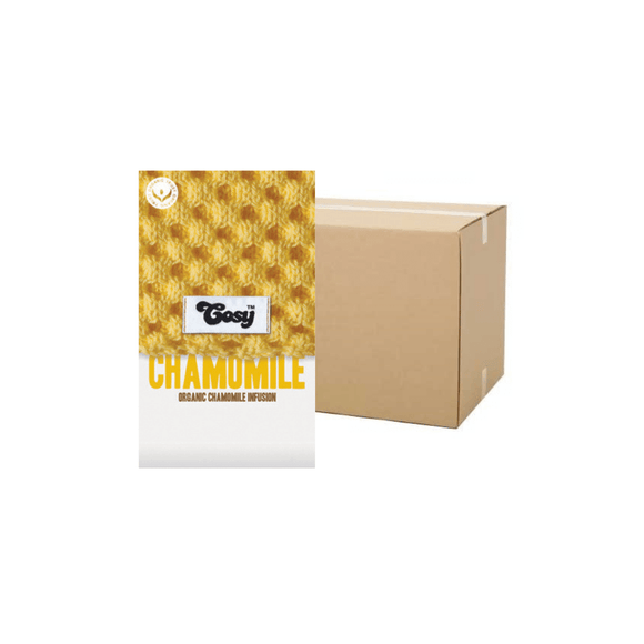 Cosy Chamomile Tagged Tea Bags (Case)