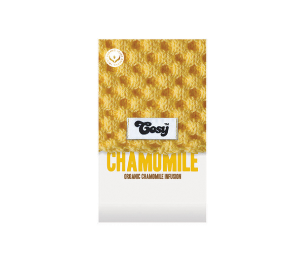 Cosy Chamomile Tagged Tea Bags (Single)