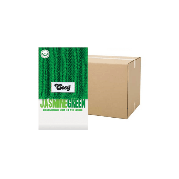 Cosy Jasmine Green Tagged Tea Bags (Case)
