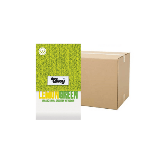 Cosy Lemon Green Tagged Tea Bags (Case)
